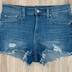 *3/$25* Levi's distressed jean shorts